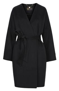 Шерстяное пальто-халат с поясом Acasta