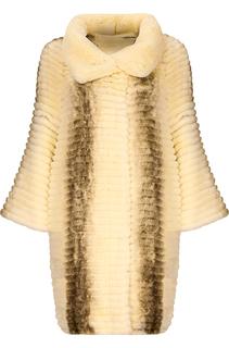 Шуба из меха кролика Virtuale Fur Collection
