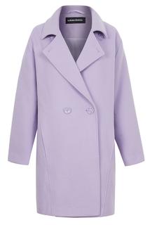Двубортное пальто оверсайз La Reine Blanche