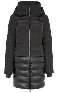 Утепленное пальто с капюшоном Neohit