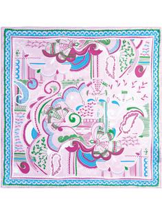 Шелковый платок с принтом Eleganzza