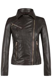 Кожаная куртка-косуха La Reine Blanche
