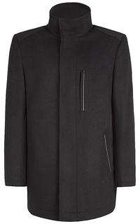 полушерстяное утепленное пальто Al Franco