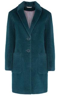 Пальто честерфилд из шерсти альпака Элема