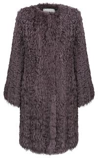 Жакет из меха вязаного козлика Virtuale Fur Collection