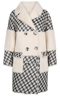 Пальто из овчины Virtuale Fur Collection