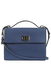 сумка-портфель из натуральной кожи La Reine Blanche