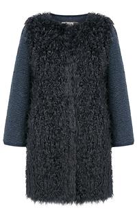 Легкая шубка из вязаной овчины Virtuale Fur Collection