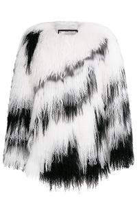 Жакет из меха тибетской овцы Virtuale Fur Collection