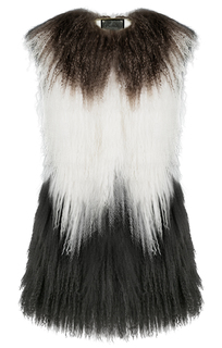 Жилет из тибета Virtuale Fur Collection