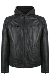 куртка из натуральной замши на молнии Jorg Weber