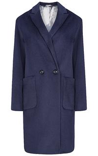 Шерстяное пальто на пуговицах Элема