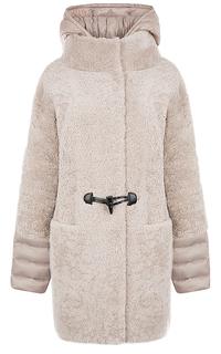 Жакет из овчины со съемными деталями Virtuale Fur Collection