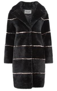 Пальто из овчины, утепленное синтепоном Virtuale Fur Collection