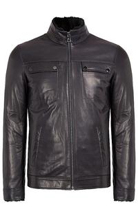 зимняя кожаная куртка Jorg Weber