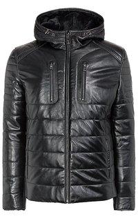 куртка из натуральной кожи на подкладке из овчины Jorg Weber