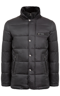утепленная куртка с отделкой мутоном Al Franco
