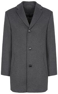 полушерстяное пальто Truvor
