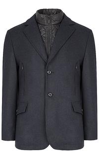 полушерстяное утепленное пальто Truvor