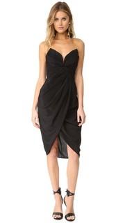 Шелковое платье Petal с перекрученной отделкой Zimmermann