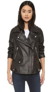 Кожаная куртка Swift Acne Studios