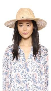 Шляпа Continental из заплетенной колосом рафии Hat Attack