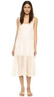 Платье-трапеция Clara с вышивкой BB Dakota