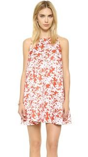 Атласное мини-платье Duchess Cynthia Rowley