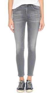 Укороченные джинсы-скинни Virtual с высокой посадкой Goldsign