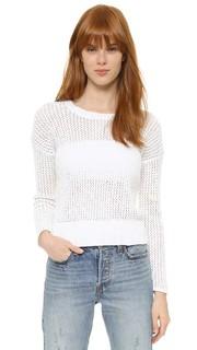 Ажурный свитер с округлым вырезом James Perse
