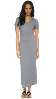 Длинное платье-футболка с карманом Monrow