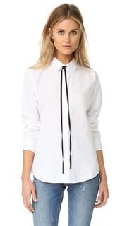 Рубашка Anesha с черным галстуком Theory