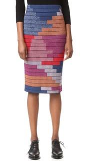 Трикотажная юбка-карандаш Mara Hoffman
