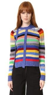 Кашемировый свитер в полоску Marc Jacobs