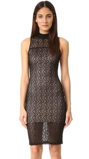Кружевное волнистое платье Ali & Jay