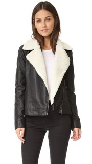 Куртка Amaya из искусственной кожи с искусственным мехом Cupcakes and Cashmere