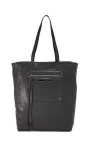 Объемная сумка с короткими ручками McQ - Alexander Mc Queen