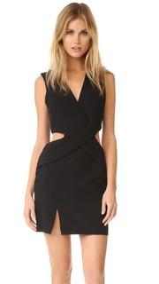 Платье с глубокой линией шеи и вырезами Kendall + Kylie