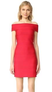 Платье с открытыми плечами Shoshanna