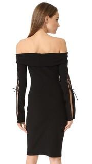 Платье Winkworth со шнуровкой и длинными рукавами Bec & Bridge
