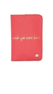 Обложка для паспорта Wish You Were Here Deux Lux