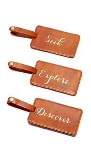 Коробка с багажными бирками Seek Explore Discover Gift Boutique