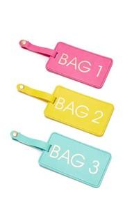 Коробка багажных бирок Bags 1-2-3 Gift Boutique