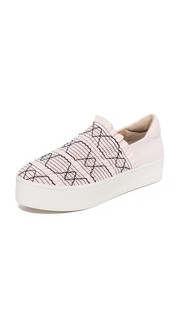 Cici Woven Platform Sneakers Opening Ceremony