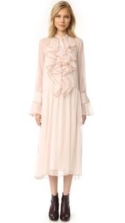 Платье с оборками See by Chloe
