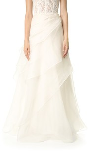 Многослойная асимметричная юбка Reem Acra