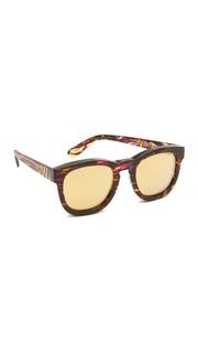 Классические солнцезащитные очки Fox Deluxe Wildfox