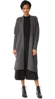 Пальто-кардиган Pure DKNY с приспущенными плечами