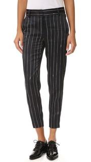 Идеально скроенные свободные брюки Dkny