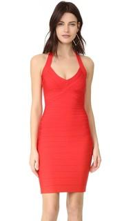 Платье Adrienne с американской проймой Herve Leger